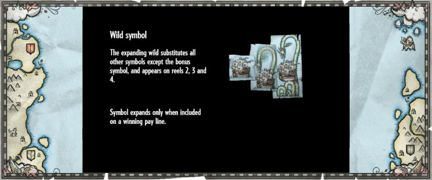 1429 Uncharted Seas - wild symbol